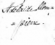 Dompierre, Adelaine - Printed name